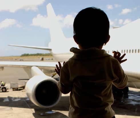 2007 report child plane
