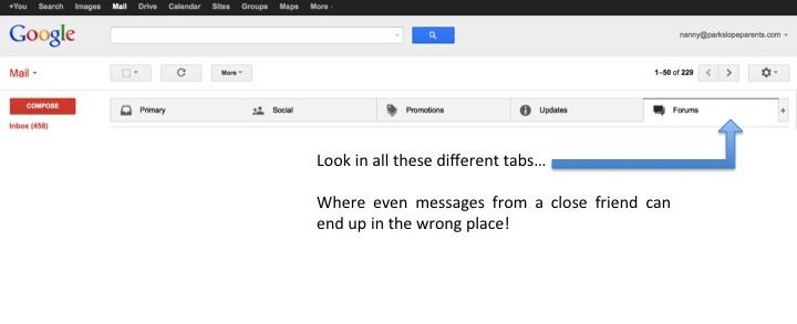 Google Tabs