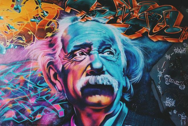 science-mural