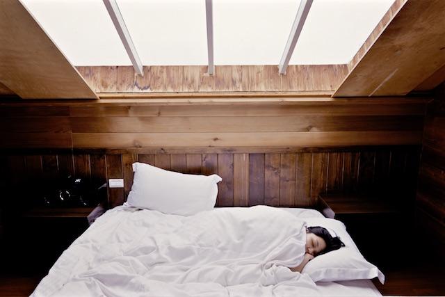 sleeping-bed